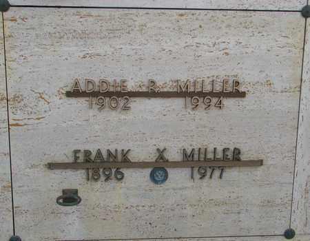 MILLER, FRANK XAVIER - Polk County, Oregon | FRANK XAVIER MILLER - Oregon Gravestone Photos
