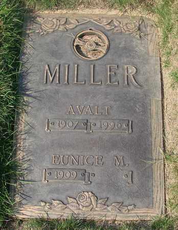 MILLER, EUNICE M - Polk County, Oregon | EUNICE M MILLER - Oregon Gravestone Photos