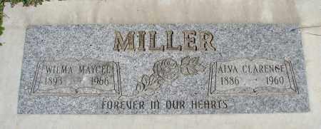 MILLER, ALVA CLARENCE - Polk County, Oregon | ALVA CLARENCE MILLER - Oregon Gravestone Photos