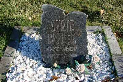 MILLER, ANNIE - Polk County, Oregon   ANNIE MILLER - Oregon Gravestone Photos
