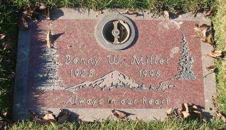 MILLER, BENNY WINFIELD - Polk County, Oregon | BENNY WINFIELD MILLER - Oregon Gravestone Photos