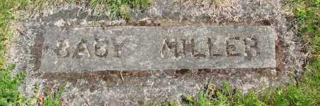 MILLER, BABY - Polk County, Oregon | BABY MILLER - Oregon Gravestone Photos