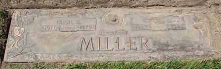 MILLER, CECIL E - Polk County, Oregon | CECIL E MILLER - Oregon Gravestone Photos