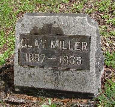 MILLER, CLAY - Polk County, Oregon | CLAY MILLER - Oregon Gravestone Photos