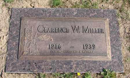 MILLER, CLARENCE W - Polk County, Oregon | CLARENCE W MILLER - Oregon Gravestone Photos