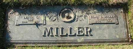 MILLER, LEITH C - Polk County, Oregon | LEITH C MILLER - Oregon Gravestone Photos