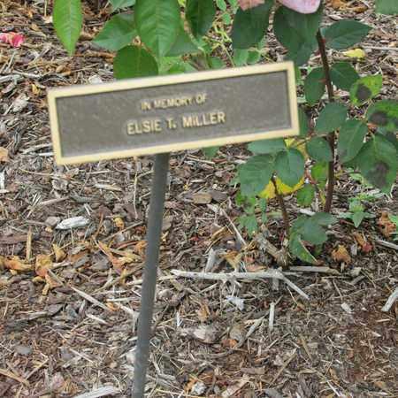 MILLER, ELSIE T - Polk County, Oregon | ELSIE T MILLER - Oregon Gravestone Photos