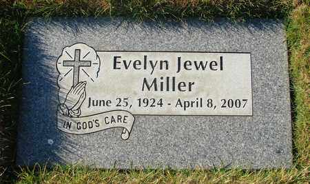MILLER, EVELYN JEWEL - Polk County, Oregon | EVELYN JEWEL MILLER - Oregon Gravestone Photos
