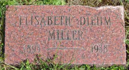 MILLER, ELISABETH - Polk County, Oregon | ELISABETH MILLER - Oregon Gravestone Photos