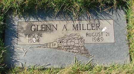 MILLER, GLENN A - Polk County, Oregon   GLENN A MILLER - Oregon Gravestone Photos