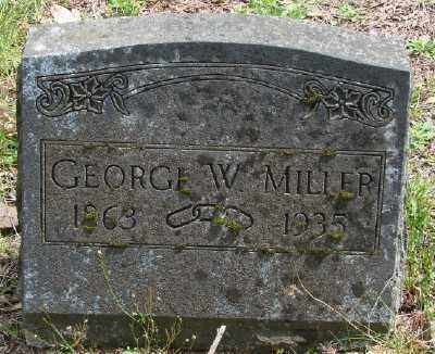 MILLER, GEORGE W - Polk County, Oregon | GEORGE W MILLER - Oregon Gravestone Photos