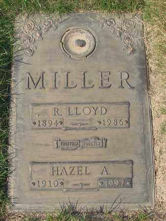 MILLER, HAZEL ALICE - Polk County, Oregon | HAZEL ALICE MILLER - Oregon Gravestone Photos