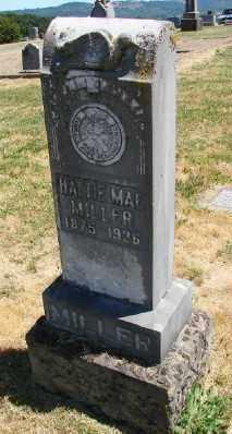 MILLER, HATTIE MAE - Polk County, Oregon | HATTIE MAE MILLER - Oregon Gravestone Photos
