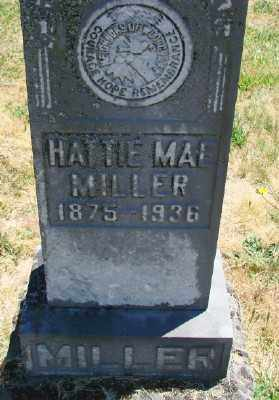 MILLER, HATTIE MAE - Polk County, Oregon | HATTIE MAE MILLER - Oregon Gravestone Photos