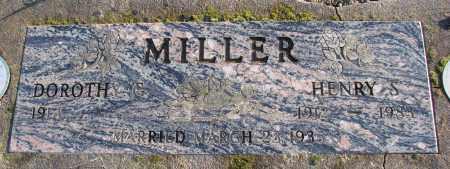 MILLER, HENRY S - Polk County, Oregon | HENRY S MILLER - Oregon Gravestone Photos