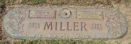 MILLER, JENNIE B - Polk County, Oregon | JENNIE B MILLER - Oregon Gravestone Photos