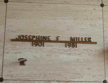 MILLER, JOSEPHINE F - Polk County, Oregon   JOSEPHINE F MILLER - Oregon Gravestone Photos
