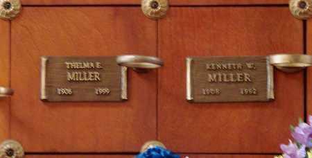 MILLER, KENNETH W - Polk County, Oregon | KENNETH W MILLER - Oregon Gravestone Photos