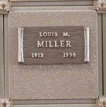 MILLER, LOUIS MALLON - Polk County, Oregon | LOUIS MALLON MILLER - Oregon Gravestone Photos