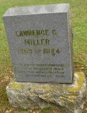MILLER, LAWRENCE C - Polk County, Oregon | LAWRENCE C MILLER - Oregon Gravestone Photos