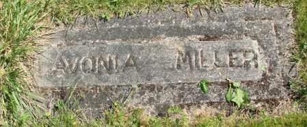 MILLER, LAVONIA - Polk County, Oregon | LAVONIA MILLER - Oregon Gravestone Photos