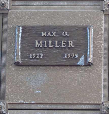 MILLER, MAX GREGG - Polk County, Oregon | MAX GREGG MILLER - Oregon Gravestone Photos