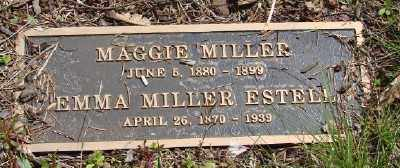 MILLER, MAGGIE - Polk County, Oregon | MAGGIE MILLER - Oregon Gravestone Photos