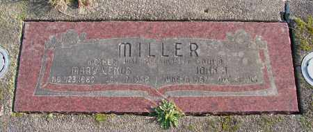 MILLER, JOHN H - Polk County, Oregon | JOHN H MILLER - Oregon Gravestone Photos