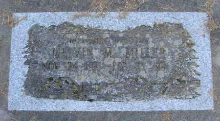 MILLER, MELVIN MILTON - Polk County, Oregon | MELVIN MILTON MILLER - Oregon Gravestone Photos