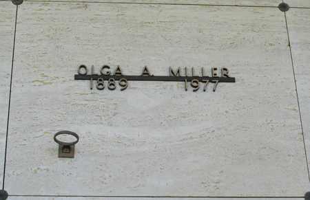 MILLER, OLGA A - Polk County, Oregon | OLGA A MILLER - Oregon Gravestone Photos