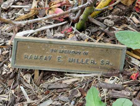 MILLER, RAMSAY E SR - Polk County, Oregon   RAMSAY E SR MILLER - Oregon Gravestone Photos