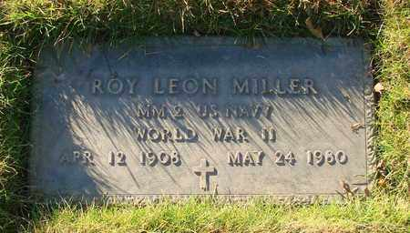 MILLER, ROY LEON - Polk County, Oregon   ROY LEON MILLER - Oregon Gravestone Photos
