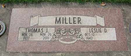 MILLER, THOMAS J - Polk County, Oregon | THOMAS J MILLER - Oregon Gravestone Photos