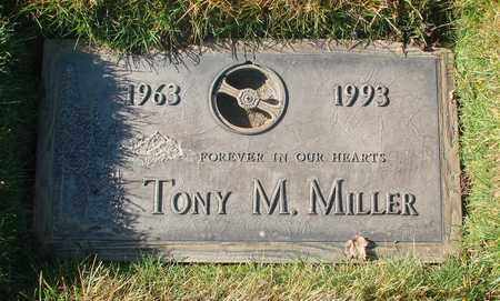 MILLER, TONY MICHAEL - Polk County, Oregon | TONY MICHAEL MILLER - Oregon Gravestone Photos