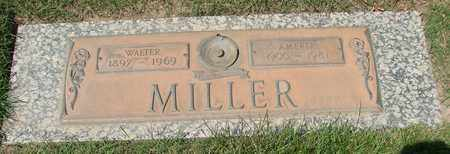 MILLER, WALTER - Polk County, Oregon | WALTER MILLER - Oregon Gravestone Photos