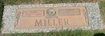 MILLER, AMELIA J - Polk County, Oregon | AMELIA J MILLER - Oregon Gravestone Photos