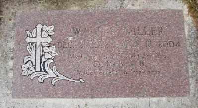 MILLER, WALTER - Polk County, Oregon   WALTER MILLER - Oregon Gravestone Photos