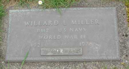 MILLER, WILLARD L - Polk County, Oregon | WILLARD L MILLER - Oregon Gravestone Photos