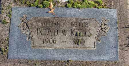 MILLS, FLOYD W - Polk County, Oregon | FLOYD W MILLS - Oregon Gravestone Photos