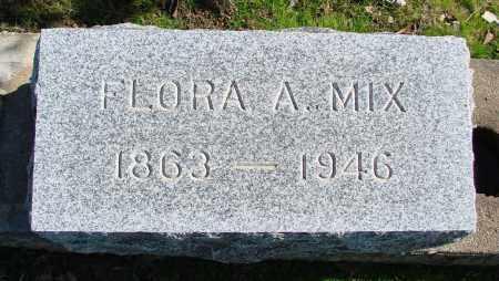 MIX, FLORA ADELIA - Polk County, Oregon | FLORA ADELIA MIX - Oregon Gravestone Photos