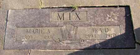 POWELL MIX, MARIE ANTOINETTE - Polk County, Oregon | MARIE ANTOINETTE POWELL MIX - Oregon Gravestone Photos