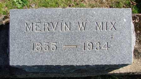 MIX, MERVIN WOOSTER - Polk County, Oregon | MERVIN WOOSTER MIX - Oregon Gravestone Photos