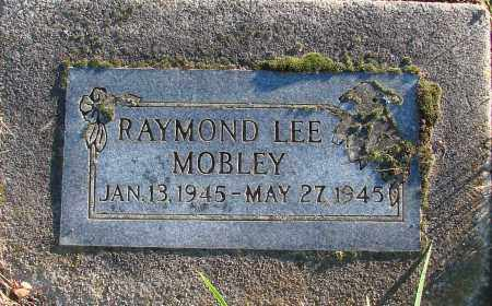MOBLEY, RAYMOND LEE - Polk County, Oregon | RAYMOND LEE MOBLEY - Oregon Gravestone Photos
