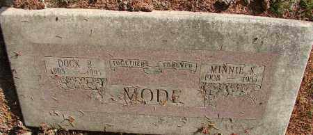 MODE, MINNIE SARAH - Polk County, Oregon | MINNIE SARAH MODE - Oregon Gravestone Photos
