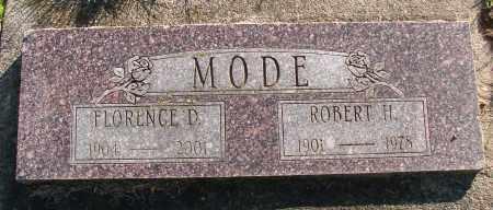 MODE, FLORENCE D - Polk County, Oregon | FLORENCE D MODE - Oregon Gravestone Photos