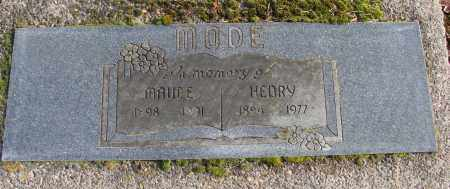 MODE, MAUDE MAY - Polk County, Oregon | MAUDE MAY MODE - Oregon Gravestone Photos