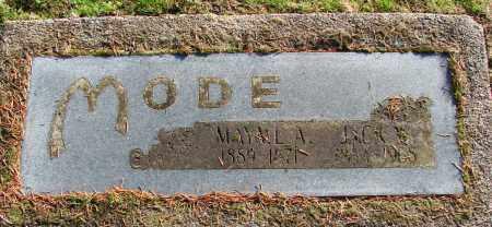 MODE, JACK W - Polk County, Oregon | JACK W MODE - Oregon Gravestone Photos
