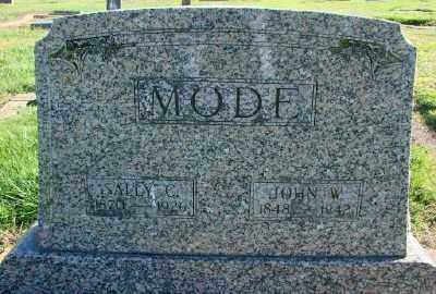 MODE, JOHN WILLIAM - Polk County, Oregon | JOHN WILLIAM MODE - Oregon Gravestone Photos