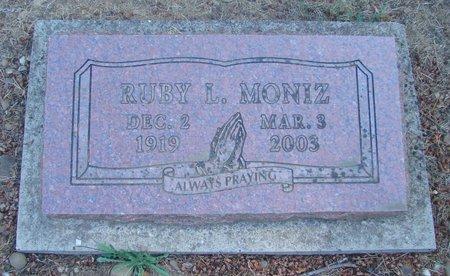 DUNCAN MONIZ, RUBY LEE - Polk County, Oregon | RUBY LEE DUNCAN MONIZ - Oregon Gravestone Photos