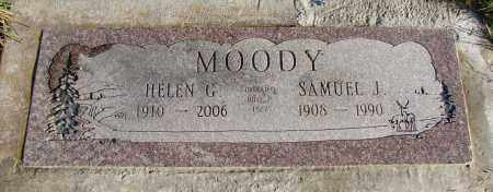 HOUSE MOODY, HELEN G - Polk County, Oregon | HELEN G HOUSE MOODY - Oregon Gravestone Photos
